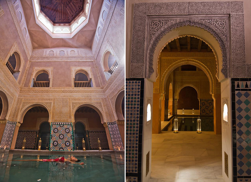 Experiencia hammam al andalus fashion galaxy - Hammam al andalus banos arabes ...