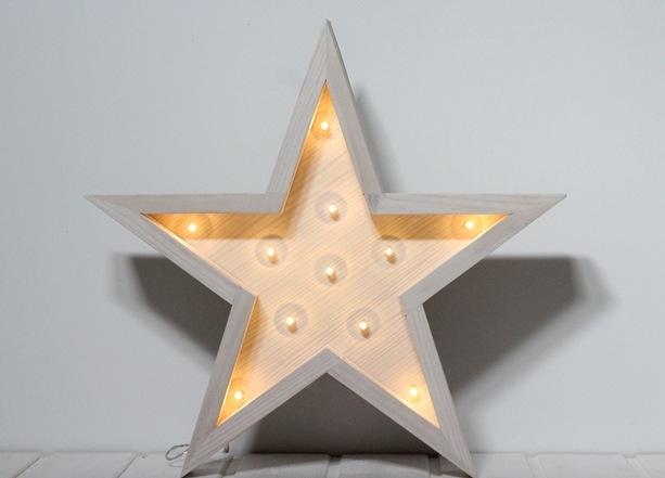 La letrera estrella luz