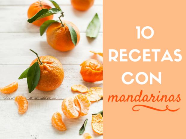10 recetas con mandarinas