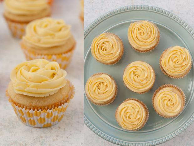 Cupcakes de mandarina