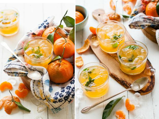 Limonada de mandarinas